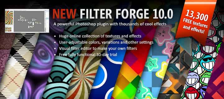 Filter Forge - an advanced Photoshop plugin